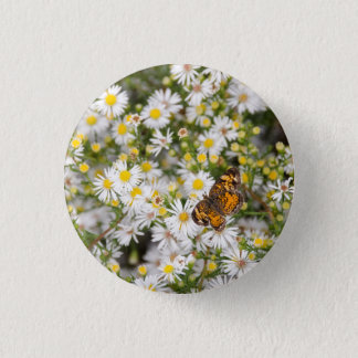 Butterfly 1 Inch Round Button
