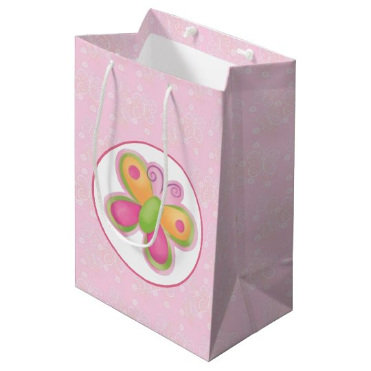 Butterfly 1 medium gift bag