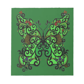 Butterfly 1 notepad
