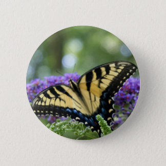 Butterfly 2 Inch Round Button