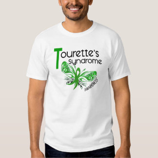 Butterfly 3.1 Tourette's Syndrome T-shirts