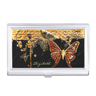Butterfly 3 business card holder