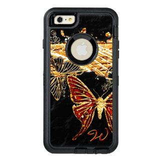 Butterfly 3 OtterBox defender iPhone case