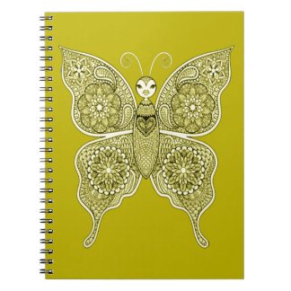Butterfly 4 notebooks