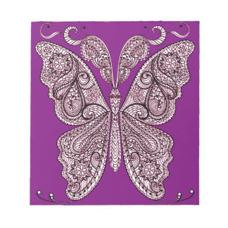 Butterfly 8 notepad