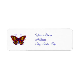 Butterfly - Address Label