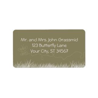 Butterfly address lg labels