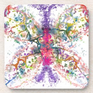 Butterfly Anatomy Coaster