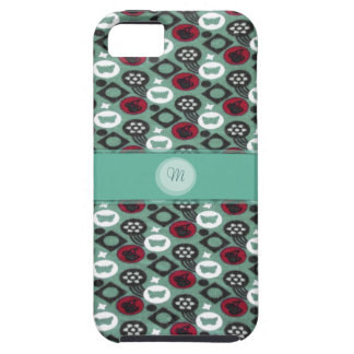 Butterfly and Cherry Fruits Icecream Pattern iPhone 5 Cases