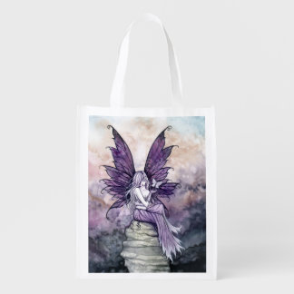 Butterfly and Fairy Fantasy Art Shopping Bag