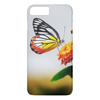 Butterfly and Flower iPhone 7 Plus Case