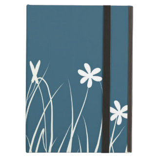 Butterfly and flower meadow.  Graphic art Cover For iPad Air