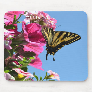 Butterfly and Flowers II Mousepad