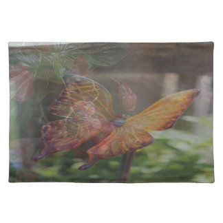 Butterfly and Flowers Placemat