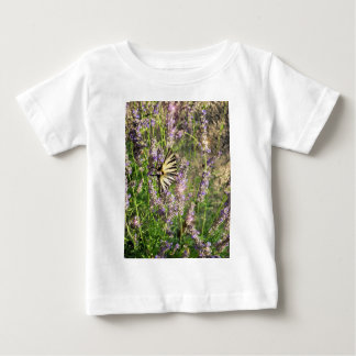 Butterfly and Lavender Baby T-Shirt