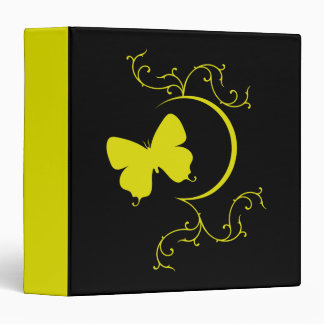 Butterfly and Ornaments Binder