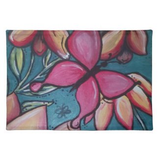Butterfly and sunflower placemat