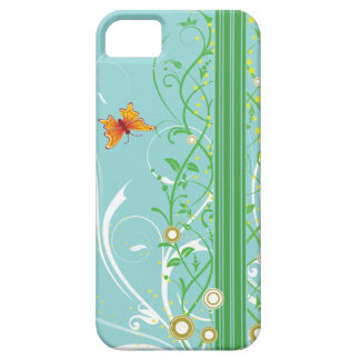 Butterfly and Swirls iPhone 5 Covers