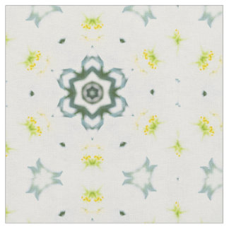 "Butterfly and White Lily Custom Combed Cotton (56"" Fabric"