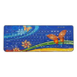 Butterfly Art 19A Wireless Keyboard