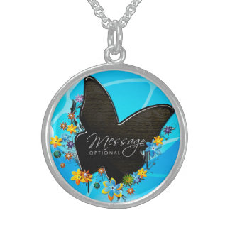 Butterfly Art 25 Necklace