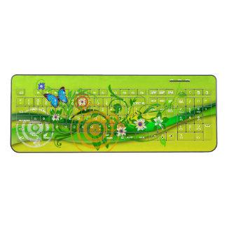 Butterfly Art 42 Wireless Keyboard