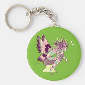 Butterfly Artistic Fantasy Fairy Unique Elf Cute Keychain