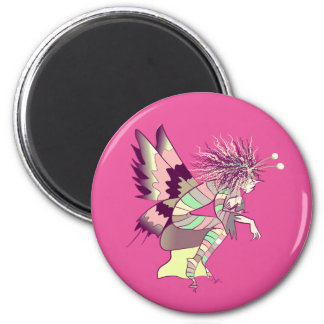Butterfly Artistic Fantasy Fairy Unique Elf Cute Magnet