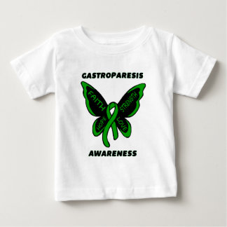 Butterfly/Awareness...Gastroparesis Baby T-Shirt