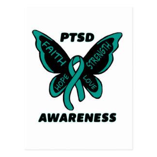 Butterfly/Awareness...PTSD Postcard