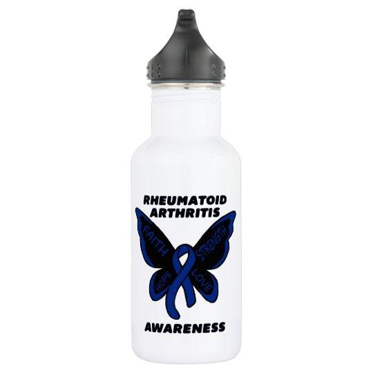 Butterfly/Awareness...Rheumatoid Arthritis 532 Ml Water Bottle