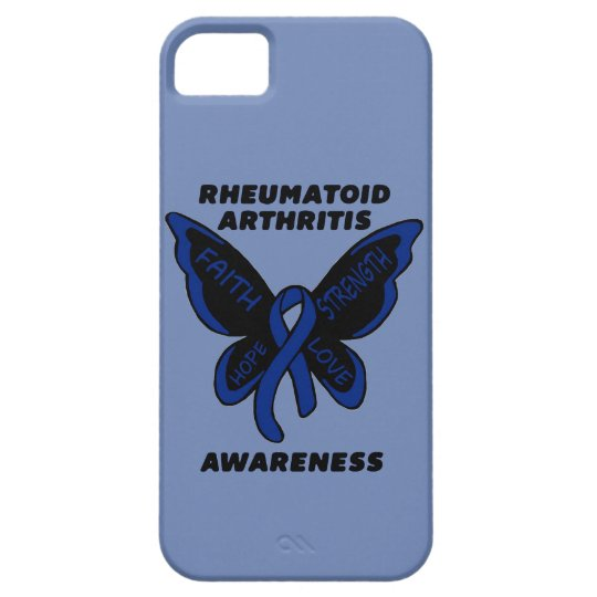 Butterfly/Awareness...Rheumatoid Arthritis iPhone 5 Cases