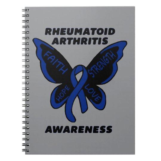 Butterfly/Awareness...Rheumatoid Arthritis Notebook
