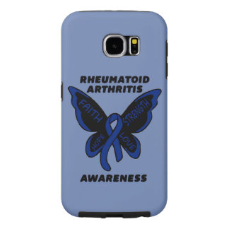 Butterfly/Awareness...Rheumatoid Arthritis Samsung Galaxy S6 Case