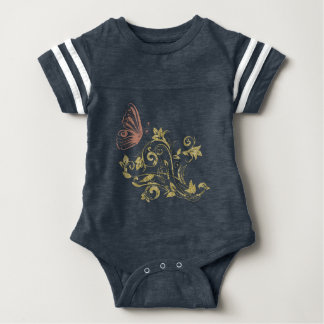 Butterfly Baby one piece Tshirts