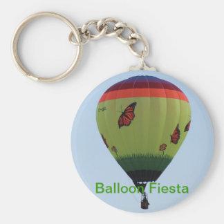Butterfly Balloon Keychain