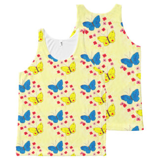Butterfly Beauties All-Over-Print Tank Top