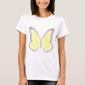 Butterfly beautiful Yellow T-Shirt
