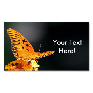 Butterfly Beauty Business Card Magnet