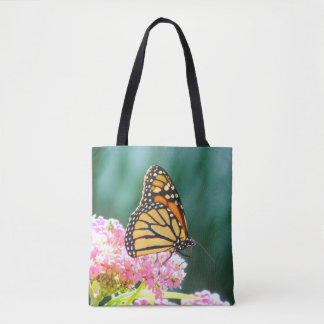 Butterfly Beauty Printed Tote Bag