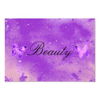 Butterfly Beauty RSVP Card