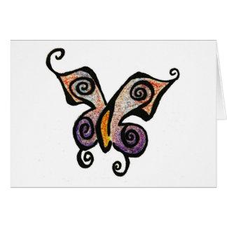 Butterfly Becky card