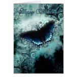 Butterfly Birthday Card - Blue Butterfly Birthday