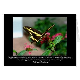 Butterfly Blank Card