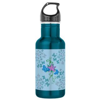 Butterfly Blue 532 Ml Water Bottle