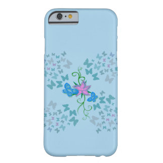 Butterfly Blue Barely There iPhone 6 Case
