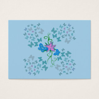 Butterfly Blue Business Card