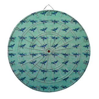 Butterfly blue dartboard