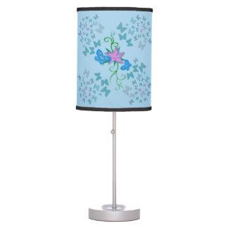 Butterfly Blue Desk Lamps