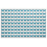 Butterfly Blue Fabric